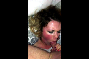 Latina mature facefucked in home sex..