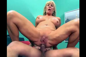 This blonde mature chick was highly..