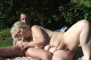 BF cuckold with blonde motherinlaw..