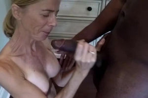 55 yr senior mature ex-wife tried to..