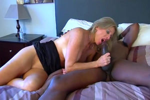 First black guy cums then hubby