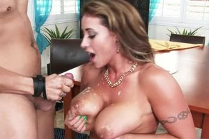 Eva Notty with tats humped by rigid dick