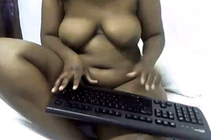 Ebony cam Plumper with a immense meaty..