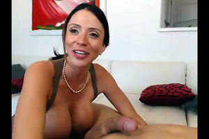 Marvelous MILF with big jugs was..