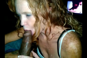 Ginger-haired mummy getting Big black..