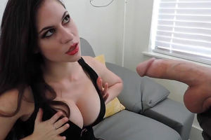 Sexy mummy does fellatio and eats big..